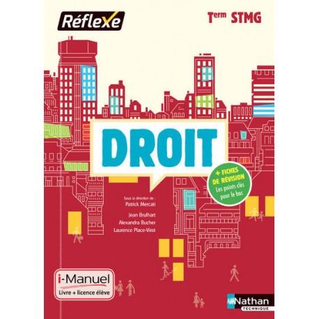 Droit Term STMG - Reflexe - 2017 - Nathan