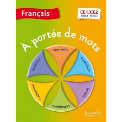 A portée de Mots - CE1/CE2 - Manuel - 2014 - Hachette