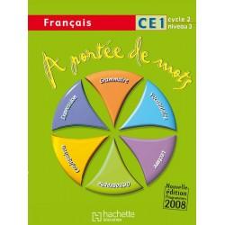 A portée de Mots - CE1 - Manuel - 2009 - Hachette