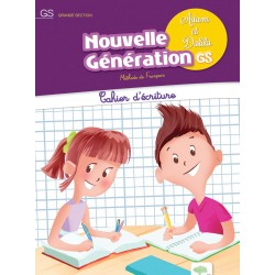 Adam et Dalila : GS - Cahier d'écriture - Apef