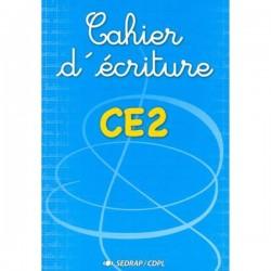 Cahier d'écriture CE2 - Sedrap