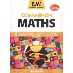 Compagnon Maths CM1 - Manuel - Adapté Prog Marocain - Sedrap