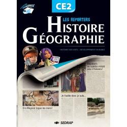 Les reporters Histoire - Géographie CE2 - Manuel de l'élève - 2011 - Sedrap