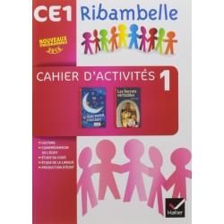 Ribambelle CE1 - Serie Rouge - Cahier d'Activites 1 + Livret d'Entrainement 1 - 2016 - Hatier