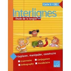 Interlignes CE2 - Manuel - 2008 - Sed