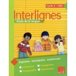 Interlignes CM1 - Manuel - 2009 - Sed