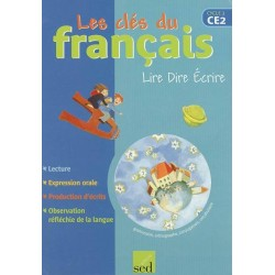 Les clés du français CE2 - Manuel - 2005 - Sed