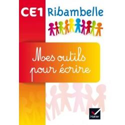 Ribambelle CE1 - Series jaune et rouge - Mes outils pour ecrire (pack de 5 ex.) - 2016 - Hatier