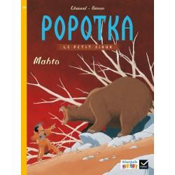 Popotka le petit sioux - Mahto - Ribambelle CE1 - Série Jaune - Album nº2 - 2016 - Hatier