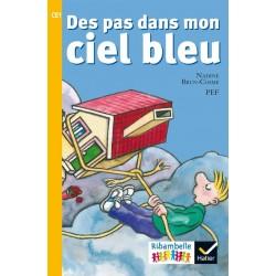 Des pas dans mon ciel bleu - Ribambelle CE1 - Série jaune - Album nº6 - 2016 - Hatier