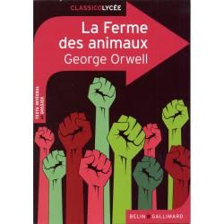 La Ferme des animaux - Classico Lycée N° 106 - 2013 - Belin Gallimard