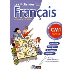 Les 4 chemins du français CM1 - 2009 - Bordas