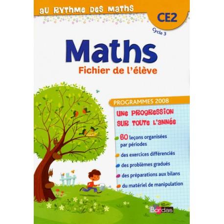 Au rythme des maths CE2 - Fichier - 2012 - Bordas
