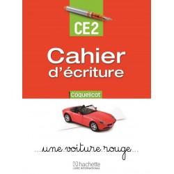 Coquelicot CE2 - Cahier d'écriture - 2015 - Hachette