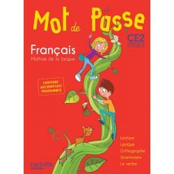 Mot de Passe Français CE2 - Manuel - 2016 - Hachette