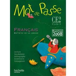 Mot de passe CE2 - Manuel - 2009 - Hachette