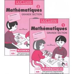 La Classe - Mathématiques Grande Section Tome 1 et Tome 2