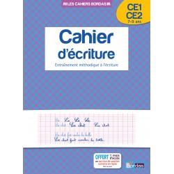 Cahier d'écriture CE1/CE2 - 2014 - Bordas
