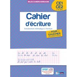 Cahier d'écriture pour Gauchers CE1/CE2 - 2014 - Bordas