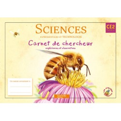 Les Ateliers Hachette - Sciences expérimentales et technologie CE2 - Carnet de chercheur - 2010 - Hachette