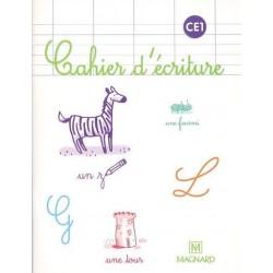 Cahier d'écriture - CE1 - Magnard