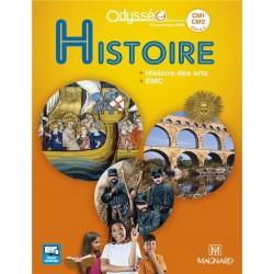 Histoire Odysséo CM1-CM2 - Manuel - 2017 - Magnard