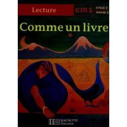 Comme un livre CM1 - Manuel - Hachette