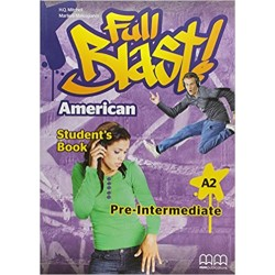 Full Blast Pre-Intermediate - Book - American Edition - MM Publications
