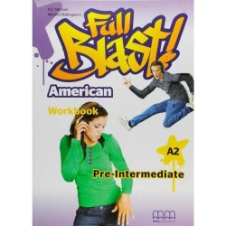 Full Blast Pre-Intermediate - Workbook - American Edition - MM Publications