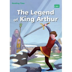 The legend of King Arthur - Reading Time CM1 - Livre - 2014 - Hachette