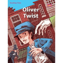 Oliver Twist - Reading Time CM1 - Livre - 2012 - Hachette