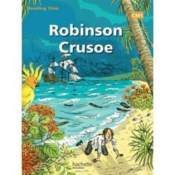 Robinson Crusoë - Reading Time CM1 - Livre - 2012 - Hachette