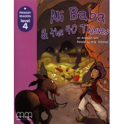 Ali Baba & The 40 Thieves - Book with CD - MM Publications
