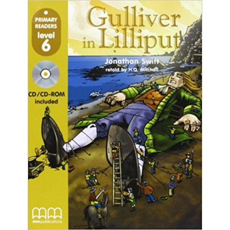 Gulliver In Lilliput - Book with CD - MM Publications