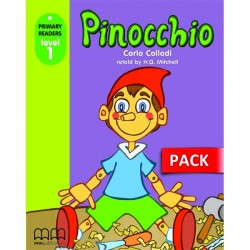 Pinocchio - Book with CD - MM Publications