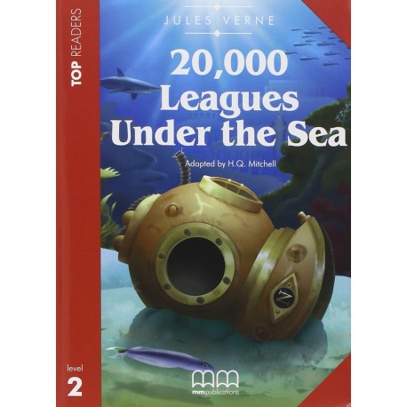 20000 Leagues Under The Sea - Book with CD - MM Publications