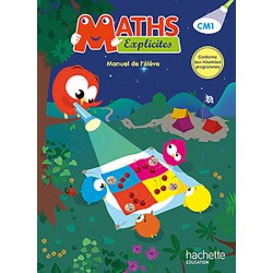 Maths Explicites CM1 - Manuel - 2016 - Hachette