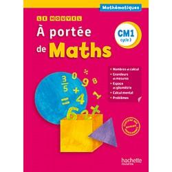 Le Nouvel A portée de maths CM1 - Manuel - 2016 - Hachette