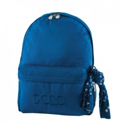 Sac à dos Polo Backpack - 1 Poche - Bleu Marine