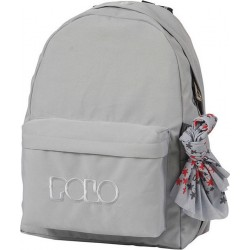 Sac à dos Polo Backpack - 1 Poche - Gris Clair