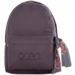 Sac à dos Polo Backpack - 1 Poche - Gris Foncé