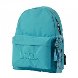Sac à dos Polo Backpack - 1 Poche - Bleu Clair