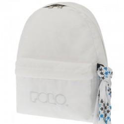 Sac à dos Polo Backpack - 1 Poche - Blanc