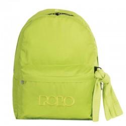 Sac à dos Polo Backpack - 1 Poche - Vert Pistache à Carreaux