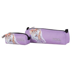 Trousse + Mini Trousse Polo Emotion Peace - Violet