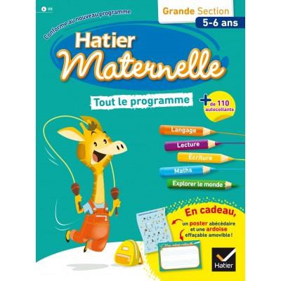 Tout le programme GS 5-6 ans - 2016 - Hatier