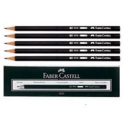 Boite de 12 Crayons à papier Faber-Castell 1111 HB