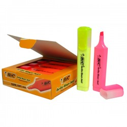 Fluo Bic Marking Highlighter Jaune