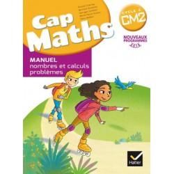 Cap maths CM2 - Manuel + Dico Maths + Cahier de geometrie - 2017 - Hatier