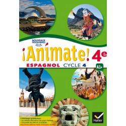 Animate Espagnol 4e - Manuel - 2017 - Hatier